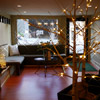 San Francisco - waiting area with winter decor